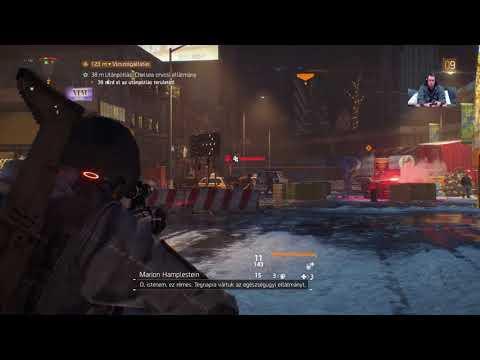 Kell az a Biohazard maszk! - Tom Clancy's The DIVISION LiVE Broadcasting