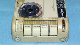Ламповые проволочные диктофоны Minifon P55 - Tube wire recorders Minifon P55