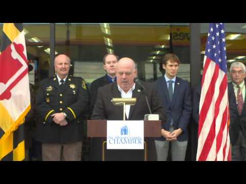 Governor Larry Hogan: Very First Love's Travel Plaza in the State of Maryland