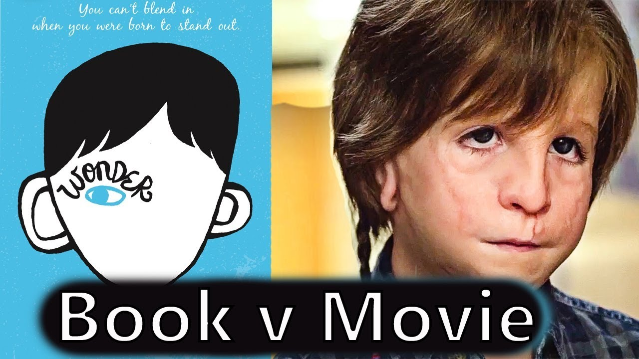 Wonder Book Vs Movie Youtube