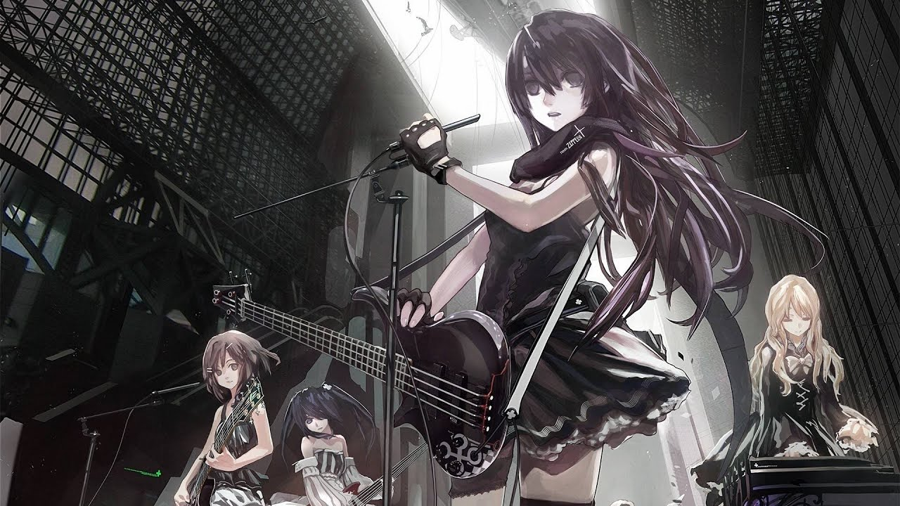 аниме рок картинки
