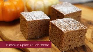 Grain-Free Pumpkin Spice Bread