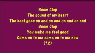 Charli XCX Boom Clap lyrics