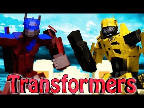 Minecraft Mods | TRANSFORMERS MOD Showcase! (TRANSFORMERS 4, OPTIMUS PRIME, ROBOT MOD)
