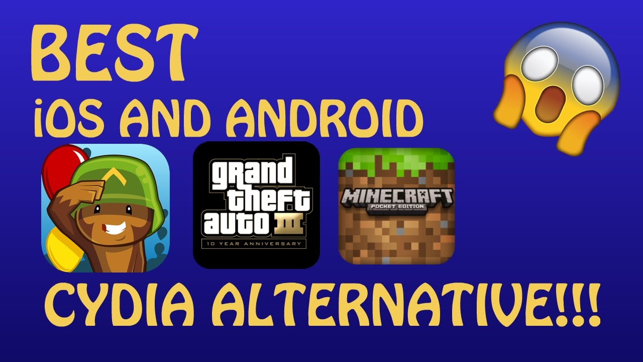 BEST iOS AND ANDROID CYDIA ALTERNATIVE! HACKED, PAID GAMES AND MORE!