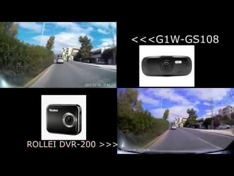 Rollei DVR-200 vs G1W NOVATEK 96650