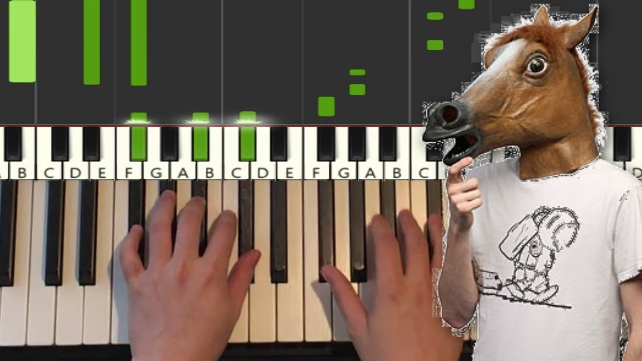 Old Town Road Piano Tutorial Lesson