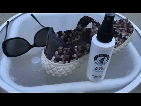 Shoe Deodorizer Spray | Foot Deodorant Spray Review | Fresh Foot Miracle