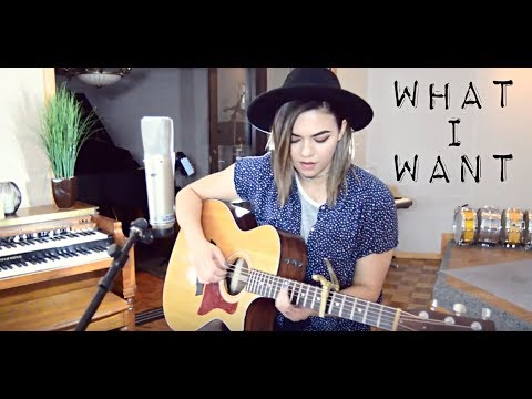 What I Want - Original (Studio Session)