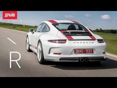 Тест-драйв нового Porsche 911 GT3 2017 видео