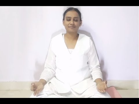 yoga to soothe you from back ache telugu  youtube