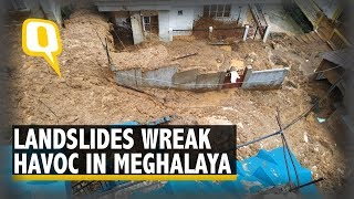 Landslides After Heavy Rains Wreak Havoc in Meghalaya