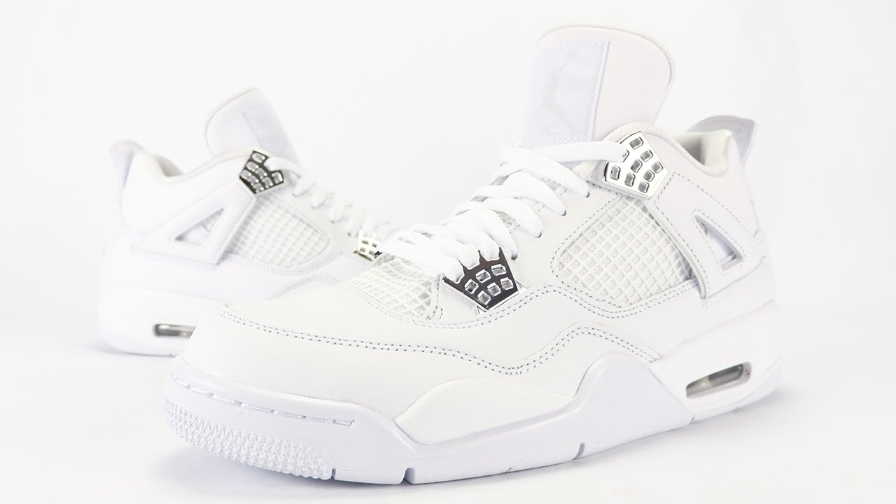 44a4db46dbd97a Air Jordan 4 Pure Money 2017 Review + On Feet - YouTube