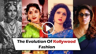 100 Years of  Kollywood Cinema in Fashion Over Ages | 1930-2019 | TBG Bridal Store