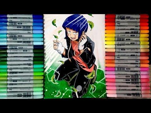 Speed Drawing Jiro Kyoka Boku No Hero Academia Desenhando Jiro