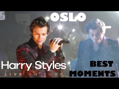 HARRY STYLES HIGHLIGHTS FROM THE OSLO SHOW