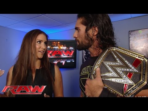 Stephanie McMahon agrees with Sting: Raw, Aug. 31, 2015
