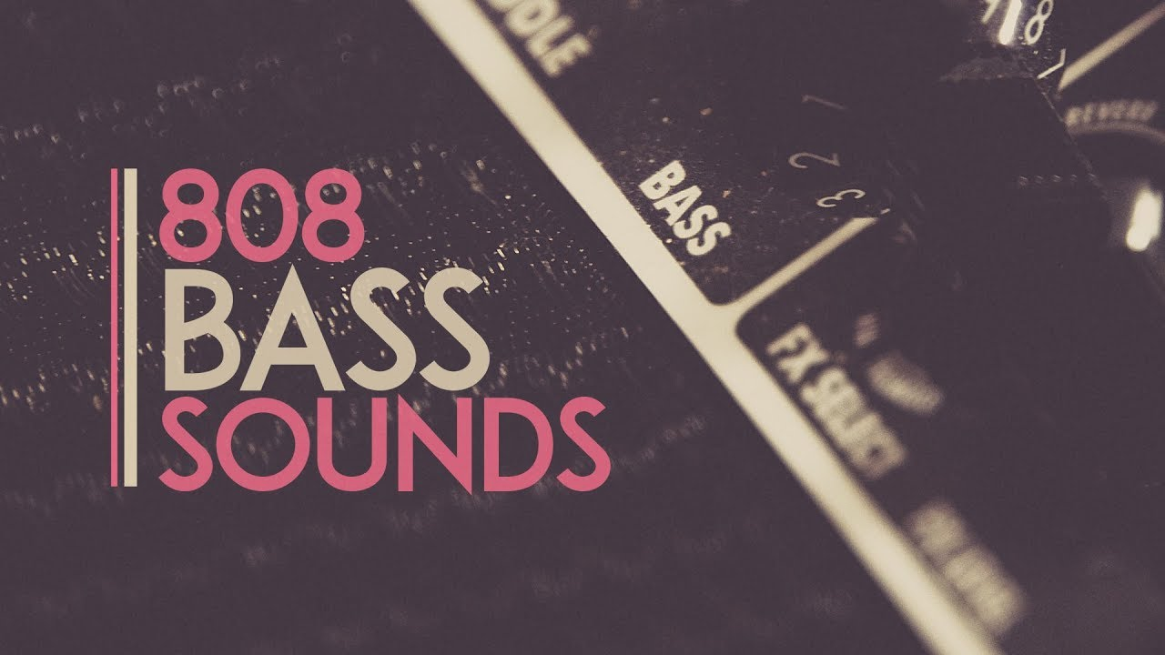 15 Free 808 Bass Sounds Pack (Royalty Free Samples)