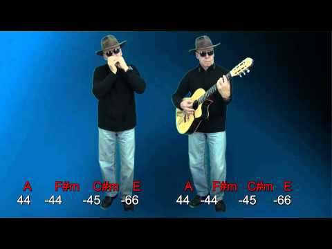 nº170 You Got It ( Roy Orbison ) tabl.harm. A + chords guitar mundharmonika