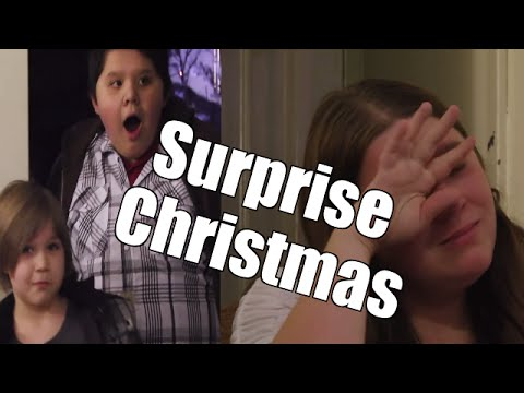 Single Mom And Kids Get Surprise Christmas. Their Reaction is Awesome!