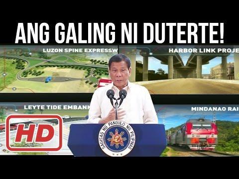 Duterte News - WOW! GALING ng DUTERTE ADMINISTRATION! DAMI NG PROJECTS NA NAGAWA AT GAGAWIN PA!