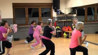 Zumba Gold - warm up 3 - Pitbull - Fireball (feat. John Ryan) - Zumba à Liège