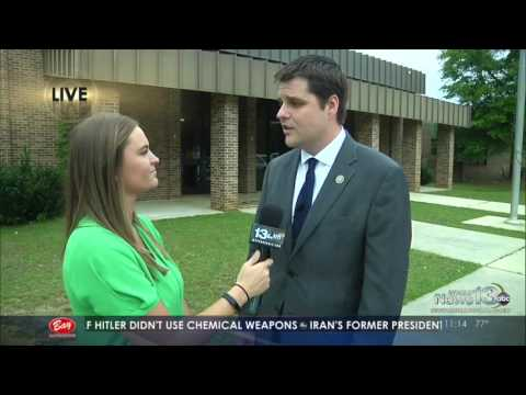 Gaetz Visits Ponce De Leon High School on Open Gaetz Tour