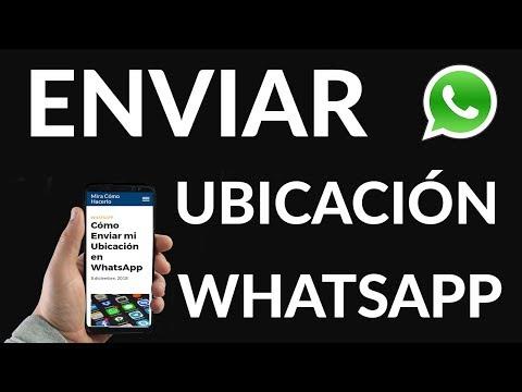 Cómo Enviar mi Ubicación en WhatsApp
