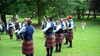 University of Bedfordshire Pipe Band - Ashbourne 2010