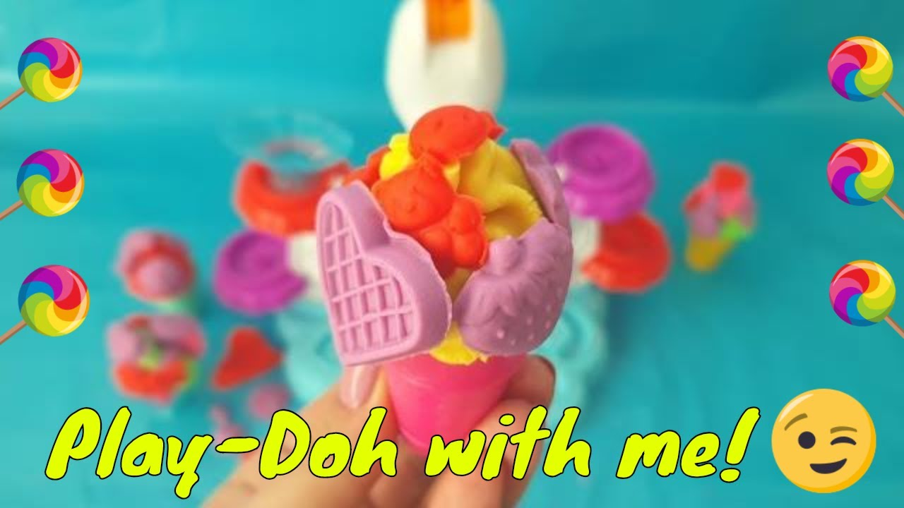 Play Doh Knet Küche Play Doh Ice Cream Diy Colorful Forms To Play With Your Kid