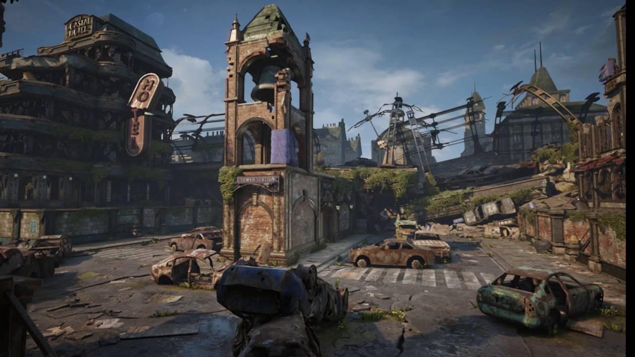 Gears of War 4 — эксклюзивный трейлер карты Gridlock