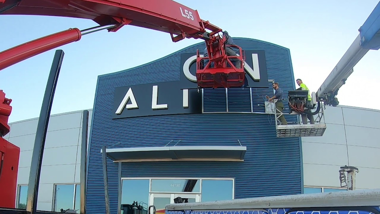 ALION Sign Install