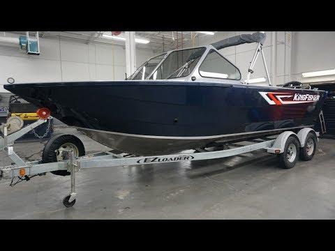 Kingfisher 2025 Escape New Model Aluminum Fishing Boat