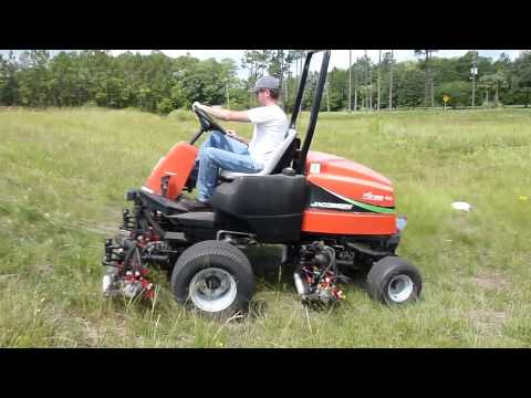 Jacobsen 9016 Turbo Mower Manual