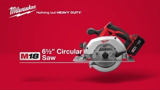 "Milwaukee® M18™ 6 ½"" Circular Saw 2630-22"