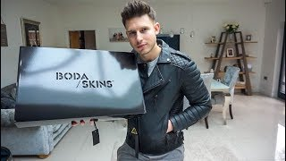 THE BEST MEN'S LEATHER JACKET? | BODA SKINS UNBOXING & REVIEW | Men's Fashion