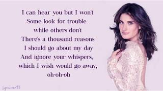 Idina Menzel, AURORA - Into the Unknown // Lyrics (From