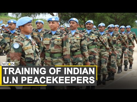 India's U.N Peacekeeping force all geared up for development in Sudan