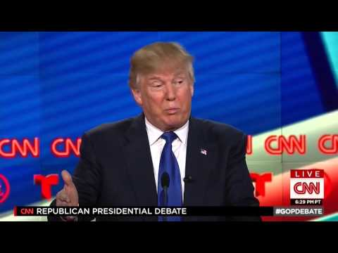 Trump says he supports Planned Parenthood but he