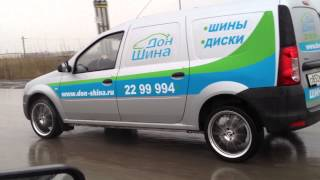 видео доставка шин и дисков