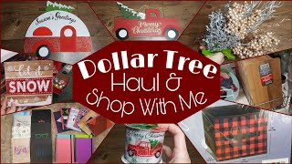Dollar Tree Haul and Shop With Me • more new items!