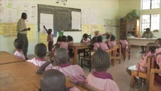 Kindergarten in Jahaly/Gambia