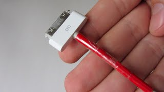 Как отреставрировать зарядку для IPhone? Есть решение!
