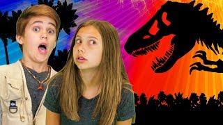 Jurassic World Finger Family | Jurassic Park | Finger Family Fun House | WigglePop