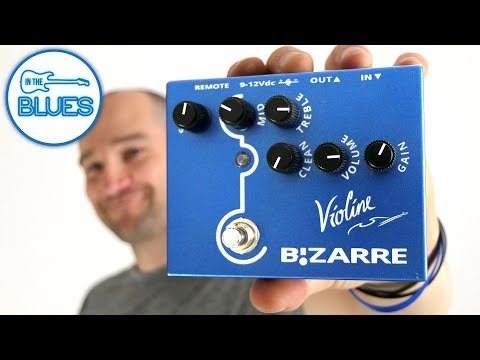 The Violine Distortion by Bizarre Engineering - Made in Portugal