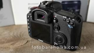 Canon EOS 7D Body цена 600$ купить на Фотобарахолка Киев(В стоимость входит: Фотокамера Canon EOS 7D body, оригинальный нашейный ремень Canon, оригинальный USB кабель для синхр..., 2016-06-11T16:13:25.000Z)