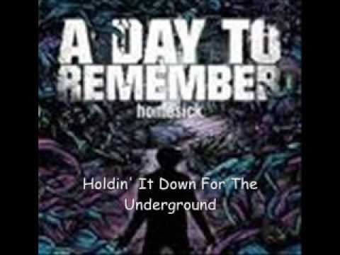A day to remember homesick special edition