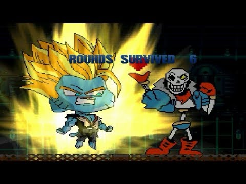 Team Gumball and Disbelief Papyrus vs. MUGEN Characters