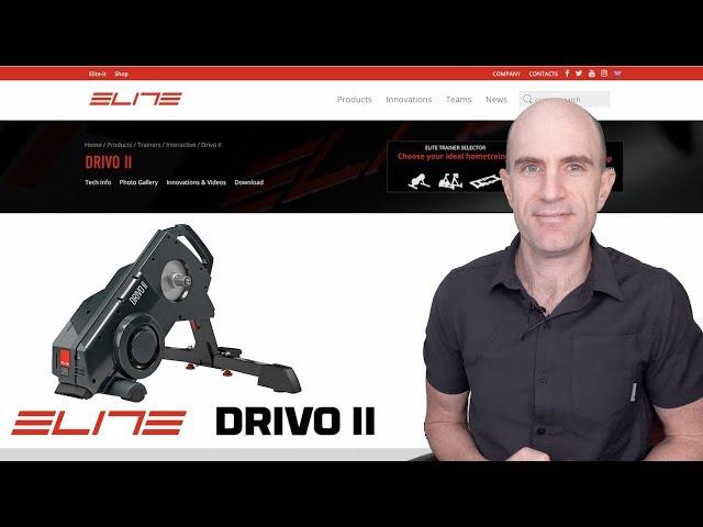 Elite DRIVO II Interactive Smart Trainer: Unboxing, Build, Ride Details