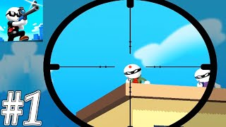 Johnny Trigger Sniper Gameplay Walkthrough Part 1 - All Level 1-45 (ios,Android)
